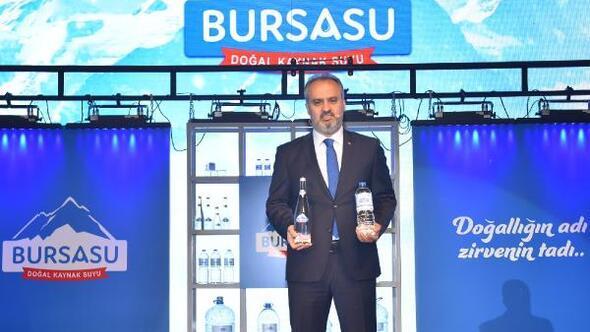 Bursa Büyükşehir Belediyesi'nin yeni markası 'Bursa Su'