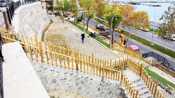 Süleymanpaşa Belediyesinden Tekirdağa, seyir terası