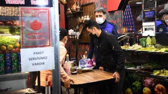 Osmangazi Belediyesinden kısıtlama denetimi