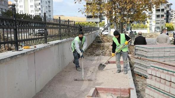İnegöl Belediyesi Yeni Mahalleye otopark çalışmalarına başladı