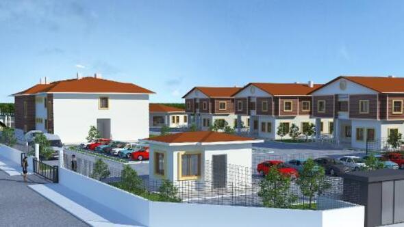 Aksarayda sevgi evlerinin projesi tamamlandı