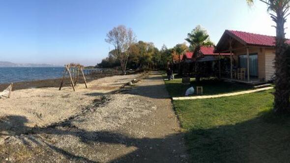 Sapancada tatil köyü inşa ettiler