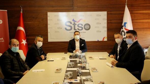 STSO Başkanı Eken, 24üncü komiteyle buluştu