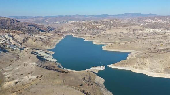 Yağışlar azaldı barajlara gelen su miktarı düştü