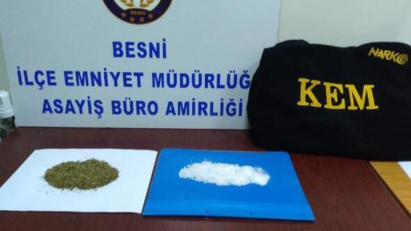 Besnide uyuşturucuya 2 gözaltı