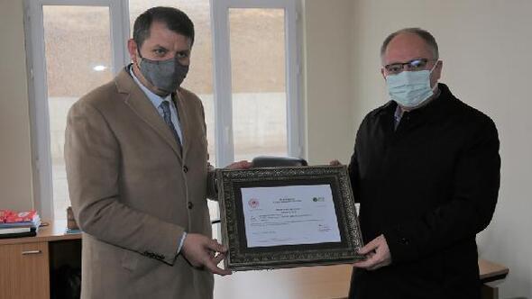 Sivas Belediyesine Sıfır atık belgesi