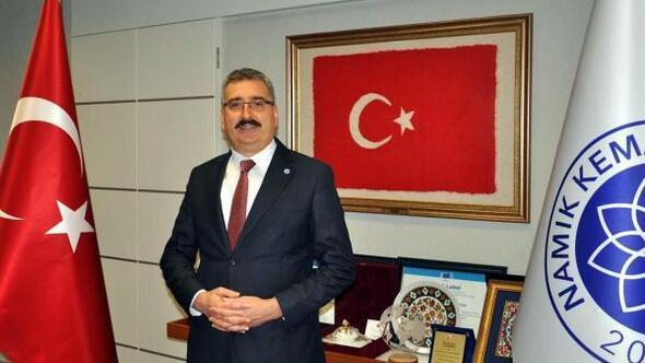 NKÜ Rektörü Prof.Dr. Mümin Şahin, etkili bilim insanları listesinde
