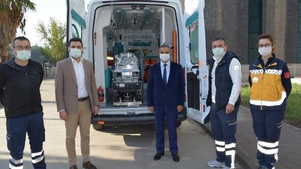 Osmaniyenin ilk yeni doğan ambulansı hizmette