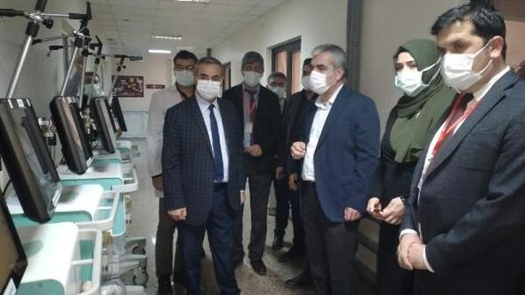 Yerli solunum cihazları Osmaniye Devlet Hastanesine teslim edildi