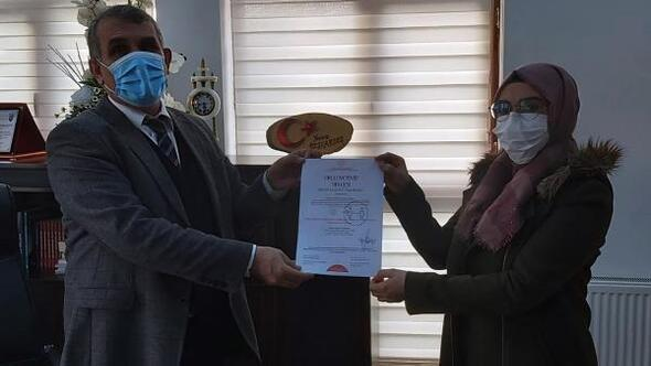 Adilcevaz'da Okulum Temiz Projesi kapsamında 28 okula belge verildi