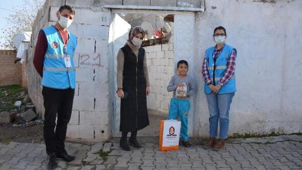 Kızıltepede çocuklara Yerli Malı Haftası sürprizi