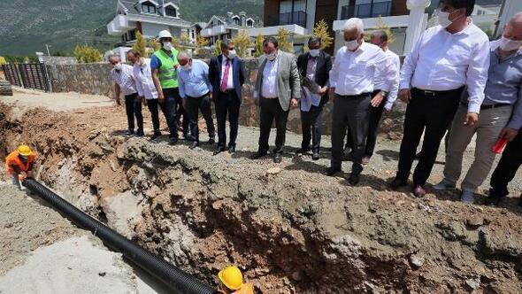 Hisarönü-Ovacık Kanalizasyon Hattının yüzde 41i tamamlandı