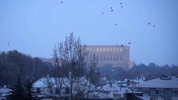 Ankara'nın karla mücadelesi
