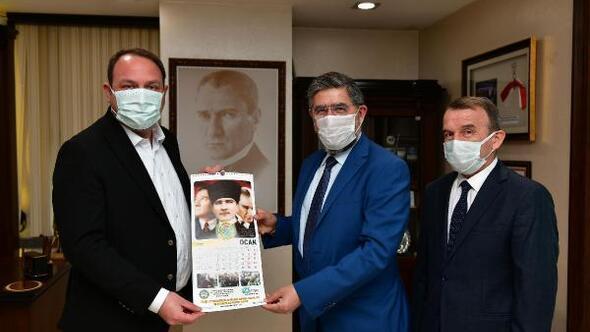 İzmir Servisçiler Odasından Başkan Utku Gümrükçüye Teşekkür Ziyareti