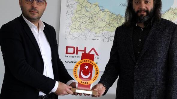 Trabzon'da, DHA'ya 2 ödül