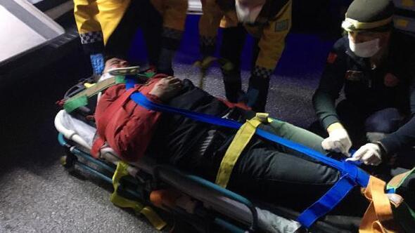 Türkmen öğrenci kazada yaralandı