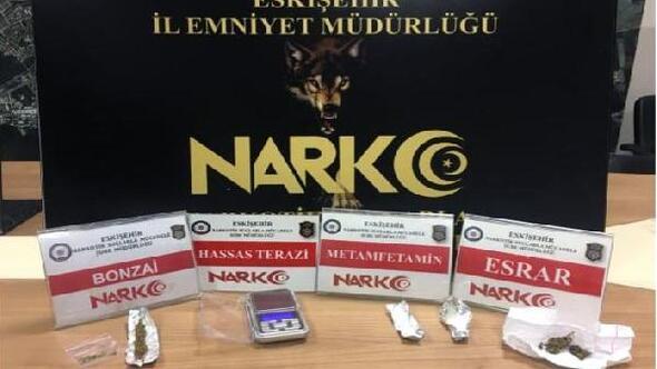 Eskişehirde uyuşturucu operasyonu: 4 gözaltı