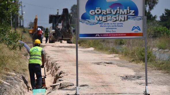 Taşucu sakinleri kanalizasyon hattına kavuştu