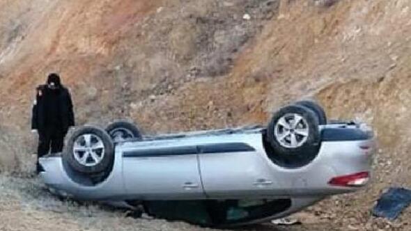 Kayseride otomobil devrildi: 3 yaralı