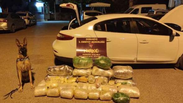 Osmaniyede bir yılda narkotik olaylarla ilgili 225 kişi tutuklandı