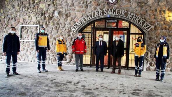 Erciyes'te 112 Acil Sağlık İstasyonu açıldı