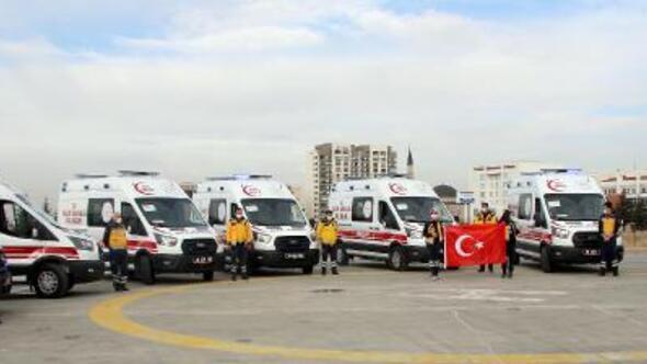 Kayseride 13 yeni ambulans