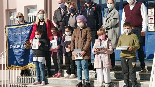 Samsun'da eğitime tablet desteği