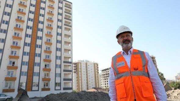 Kocasinan'da kentsel dönüşüm daireleri sahiplerine teslim ediliyor