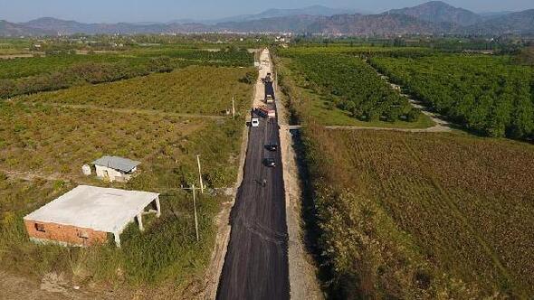 Muğlada geçen yıl 130 kilometrelik yol çalışması