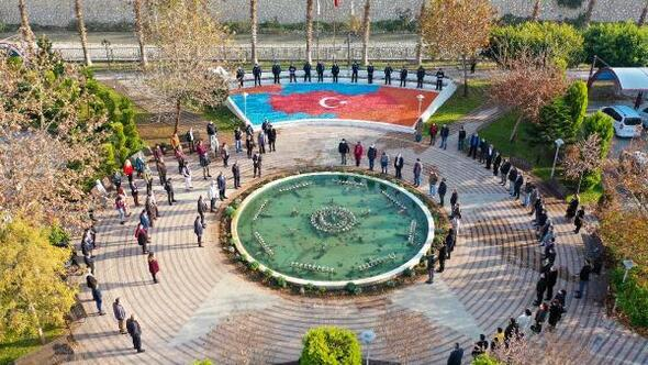 Erdemli Belediyesinden, bayrak törenlerine destek