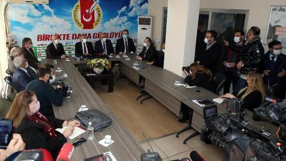 Belediye başkanlarından KGCye ziyaret