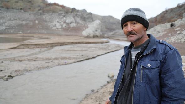 Barajdaki su seviyesi yüzde 23'e geriledi