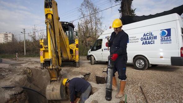 ASATtan Antalya alt yapısına bir yılda 149 milyonluk yatırım