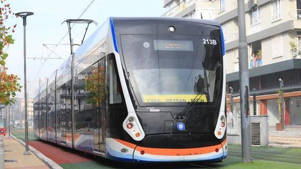 Tramvay ulaşımı Çallıda 20 günlüğüne tek hattan yapılacak