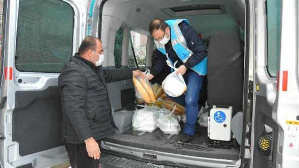 Akşehir Belediyesinden, koronavirüs tedavisi görenlere sıcak yemek
