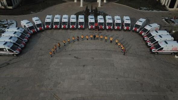 Kocaelide 30 yeni ambulans hizmete alındı