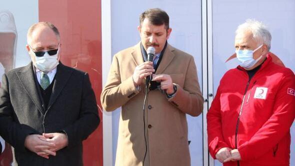 Sivasta, Kızılay Kan Toplama Merkezi açıldı