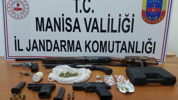 Alaşehir'de uyuşturucu operasyonu