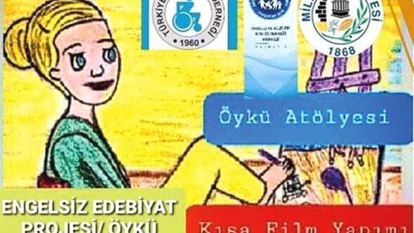 Milas'ta engelsiz edebiyat projesi