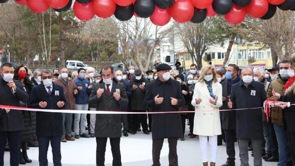 Yenilenen Uğur Mumcu Parkı'nın açılışı yapıldı