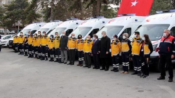 Kayseri'ye 10 yeni ambulans