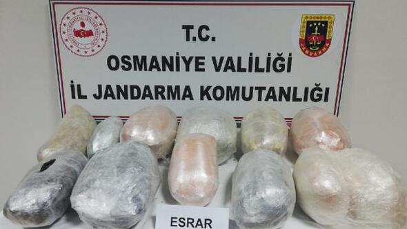 Osmaniyede jandarma 2020'de kaçakçılık ve organize suçlardan 586 kişiyi yakaladı
