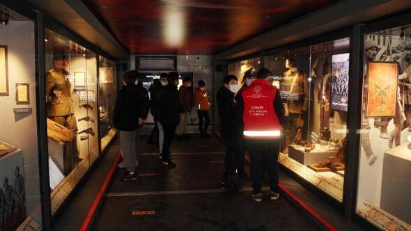 Çanakkale Savaşları Mobil Müzesi Çankırı'da