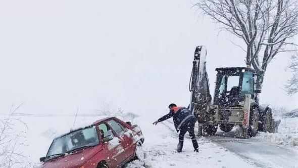 Süleymanpaşa Belediyesinden karla mücadele