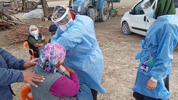 Osmaniye'de 9 bin 168 kişiye koronavirüs aşısı yapıldı