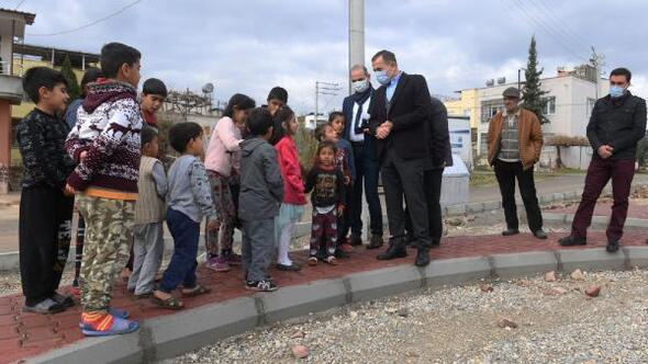 Yenişehir Belediyesi, Deniz Mahallesi'ne yeni bir park kazandırıyor