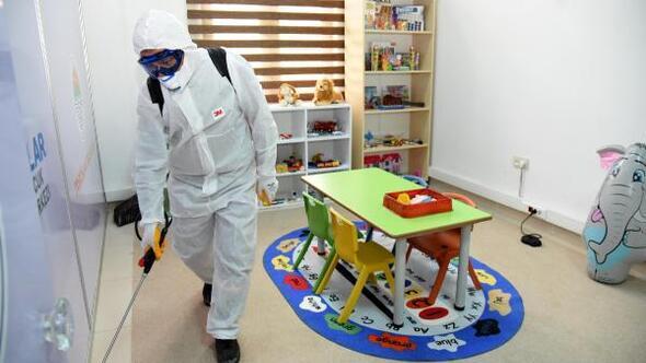 Toroslarda dezenfekte çalışmaları üst seviyede