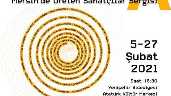 Yenişehir'de 65 sanatçı tek sergide buluşuyor
