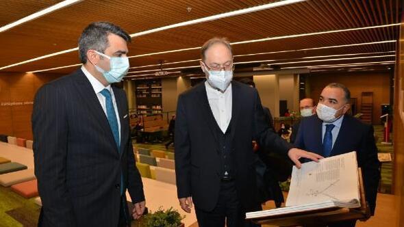 Diyanet İşleri Başkanı Ali Erbaş'tan 'uyumayan kütüphane'ye ziyaret