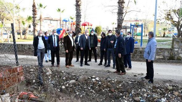 Kemer Belediyesinden Çamyuvada altyapı çalışması
